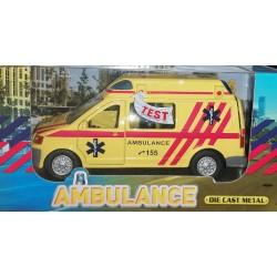 GLOBE Ambulance se zvuky a světly 14cm