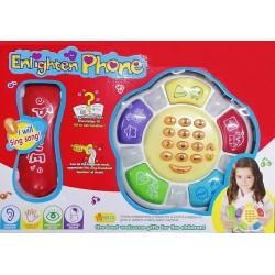 Dětský telefon s hracím pultem