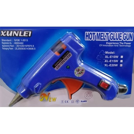 XUNLE1 Q/QE 1-2013 Tavná pistole 20W