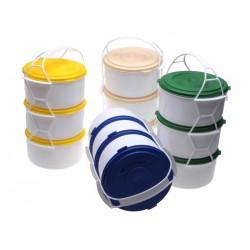 Smart Cook Jídlonosič 3 patrový plastový multicolor