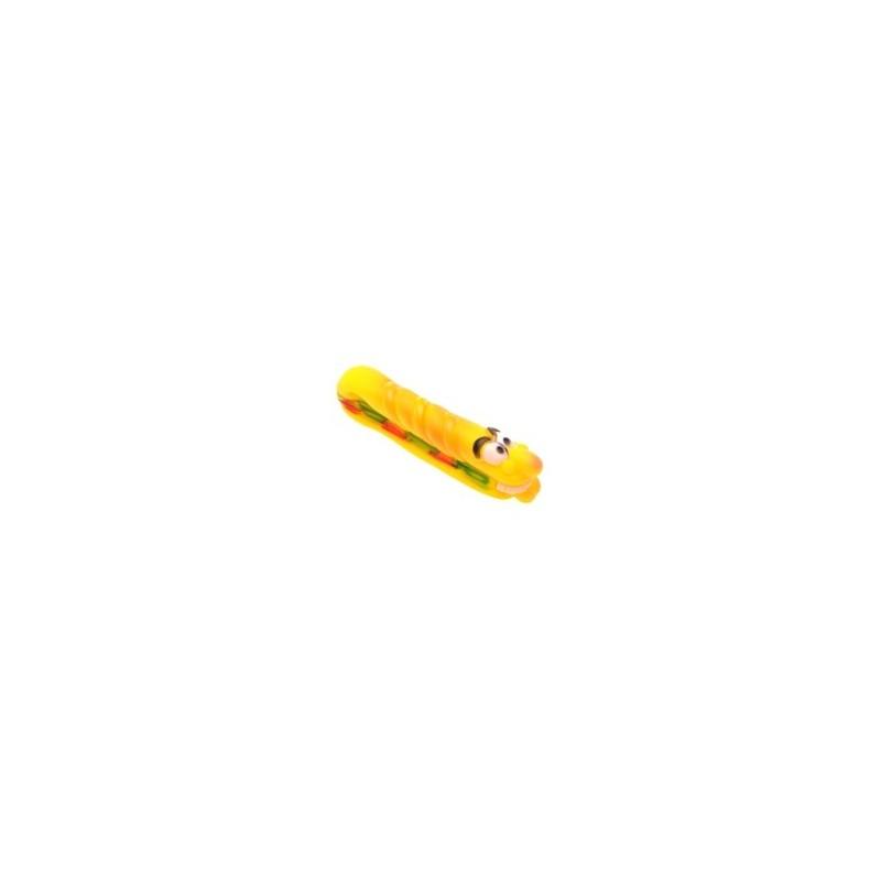Elmich Hračka pro psa Hotdog žlutý
