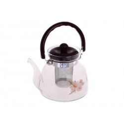 Smart Cook Konvice na čaj 1200ml sklo/plast/nerez ocel