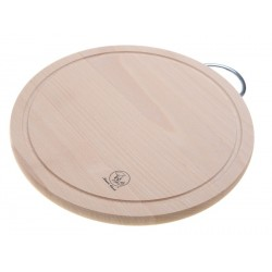 Smart Cook Krájecí deska Kruh 25x1,5cm dřevěná
