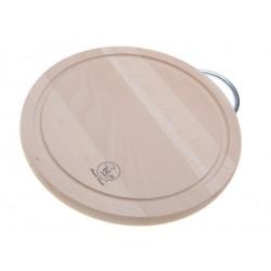 Smart Cook Krájecí deska Kruh 20x1,5cm buková