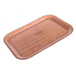 Smart Cook Tácek 24,5x34cm plastový dřevo