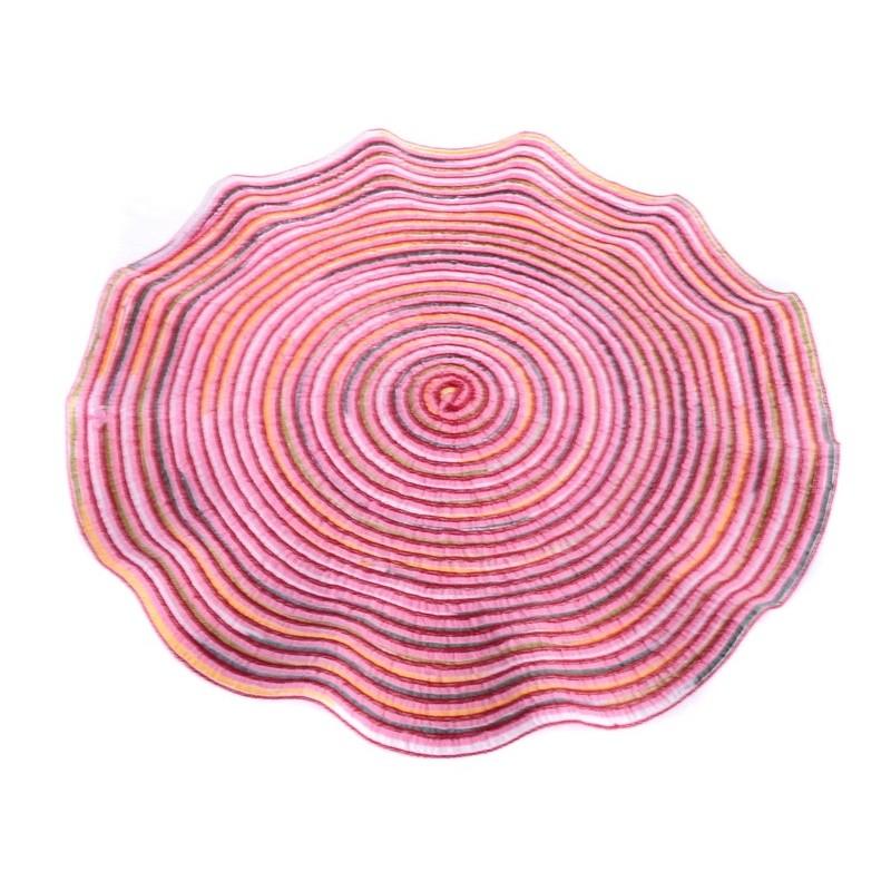 Smart Cook Prostírání kulaté 38cm růžové