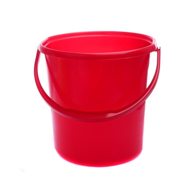 Elmich Home Vědro plastové červené 16l