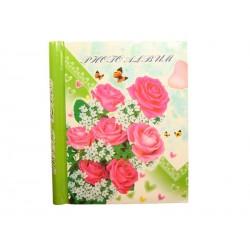 Samolepící foto album 20x27cm 40 ks Růžové růže