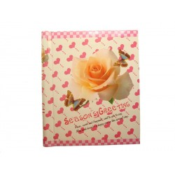 Samolepící foto album 20x27cm 40 ks Oranžové růže