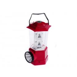 Elmich Home Lampa 13 LED diod 8x8,5x16cm červená