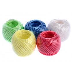 Šňůra na prádlo 20 m plastová multicolor