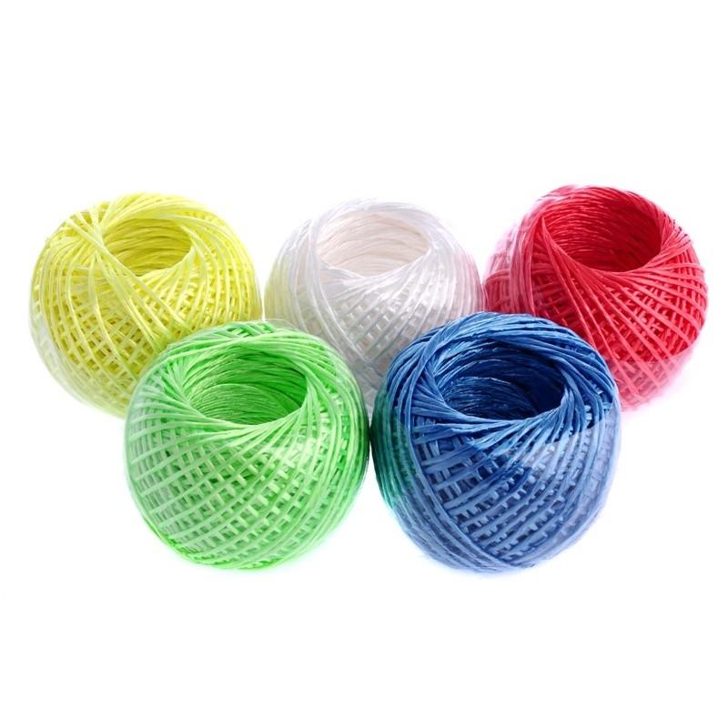 Šňůra na prádlo 35 m plastová multicolor