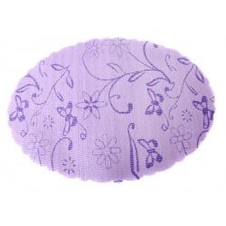 Elmich Home Univerzální podložka 6 ks PVC kulatá fialová
