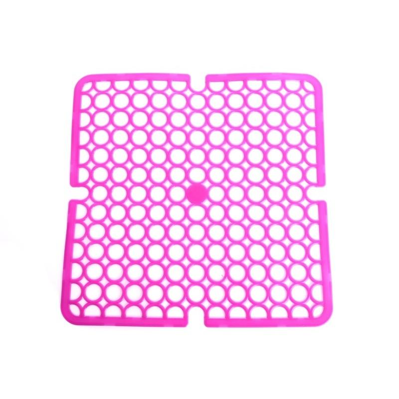 Unihouse Podložka do dřezu 28x28cm PVC růžová