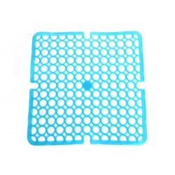 Unihouse Podložka do dřezu 28x28cm PVC modrá