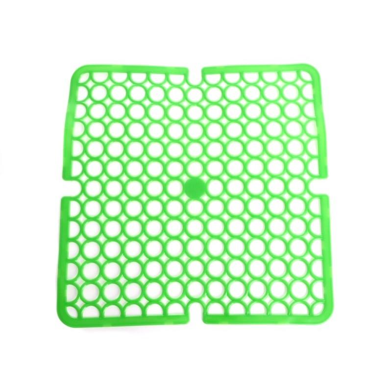 Unihouse Podložka do dřezu 28x28cm PVC zelená
