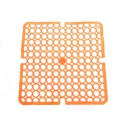 Unihouse Podložka do dřezu 28x28cm PVC oranžová
