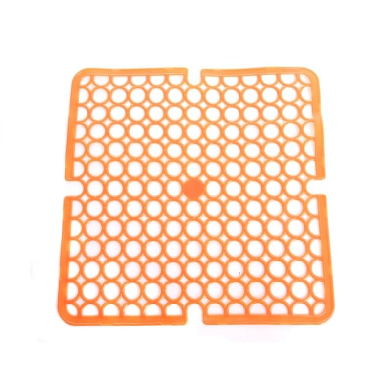 Unihouse Podložka do dřezu 28x28cm oranžová