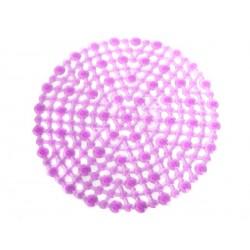Unihouse Podložka do dřezu 29,5cm PVC kulatá růžová