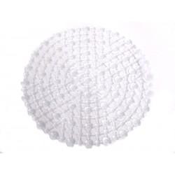 Unihouse Podložka do dřezu 29,5cm PVC kulatá bílá