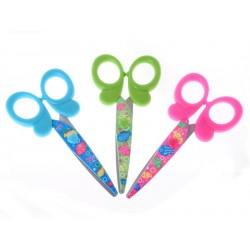 Elmich Home Dětské nůžky 13,5x6cm barevné