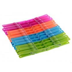 Kolíčky na prádlo 24 ks multicolor