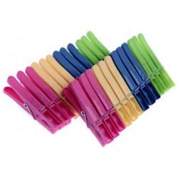 Kolíčky plastové 24 ks