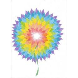 Harmonizační květina A4