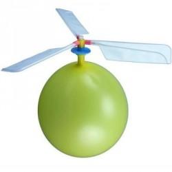 Létající vrtulka s balónkem