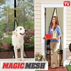 Magic Mesh Screen Door