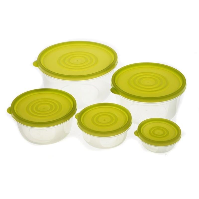Smart Cook Plastová dóza 5ks zelená