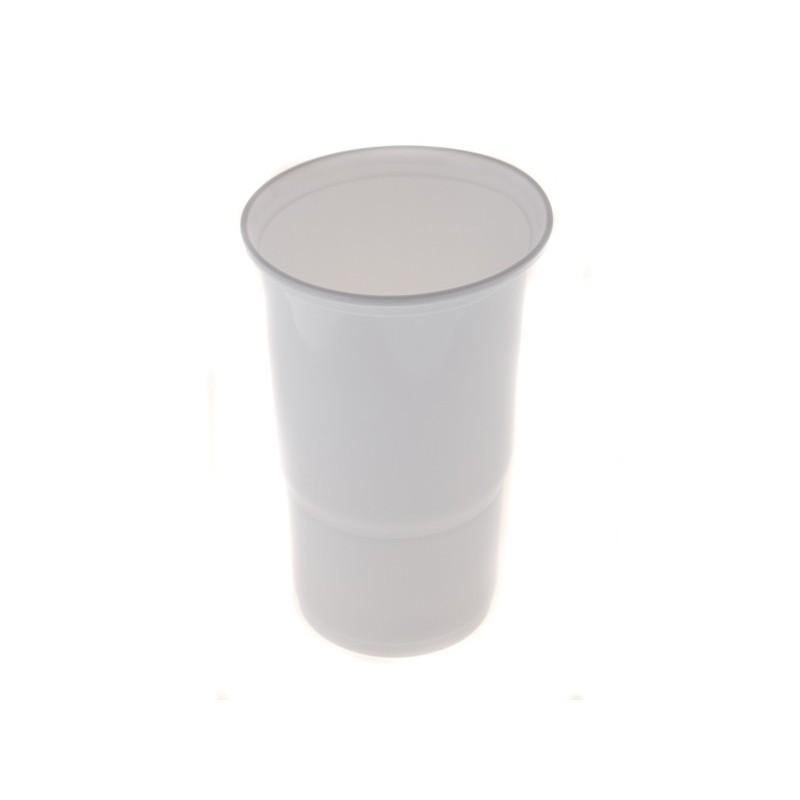Plastový kelímek bílý 0,5 l 10 ks