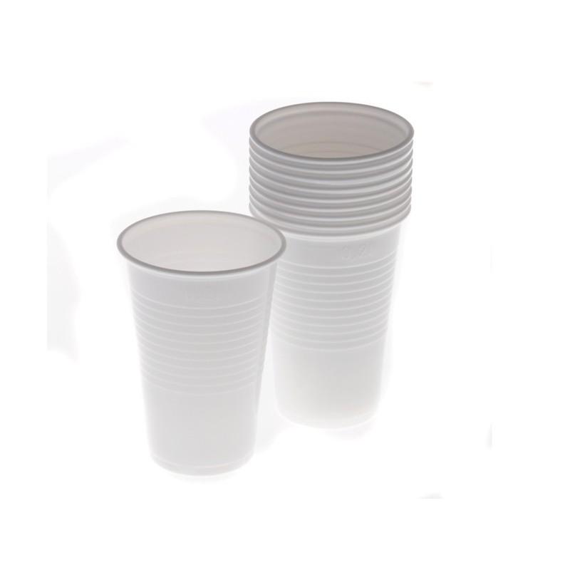 Plastový kelímek bílý 0,2 l 10 ks