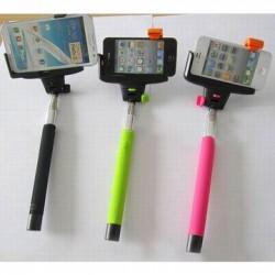 Teleskopická selfie tyč s bluetooth ovládáním
