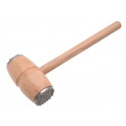 Dřevěná palička na maso 28,5cm