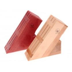 Dřevěný blok na nože 22cm