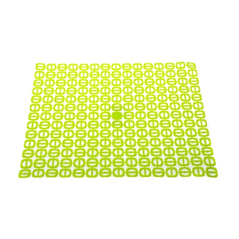 Podložka do dřezu čtvercová zelená