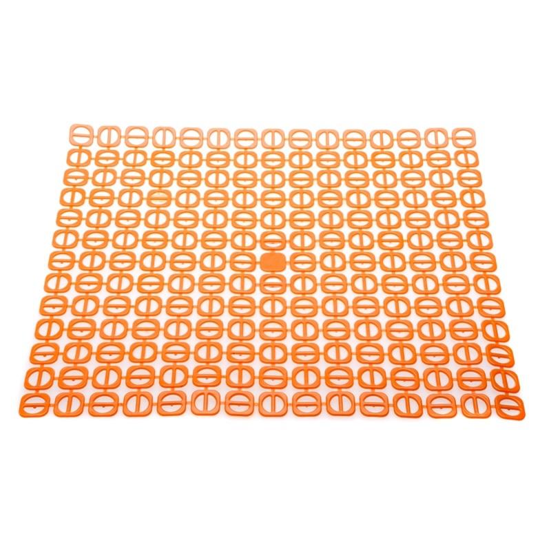 Podložka do dřezu čtvercová oranžová