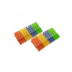 Kolíčky plastové 24ks