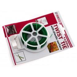 Unihouse Drát vázací s plastovým povrchem 20m