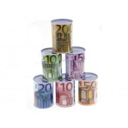 Unihouse Pokladnička kovová 8,5x11,5cm Euro