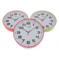 Unihouse Nástěnné hodiny plastové kulaté 30cm