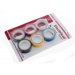 Unihouse Elektrikářská izolační páska PVC 6 ks