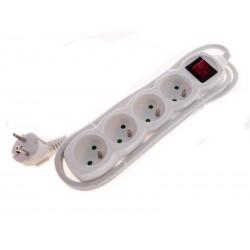 Unihouse Prodlužovací kabel s vypínačem 4x16A bílý 1,5m