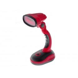 Unihouse Stolní lampa 12LED - červená