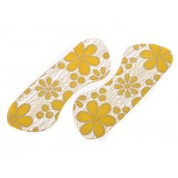 SmartShoes Silikonové vložky do bot růžové květiny