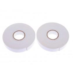 Oboustranná pěnová lepící páska tl. 1 mm, šířka 17mm 2 ks