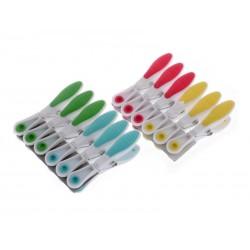 Kolíčky na prádlo plastové 12 ks