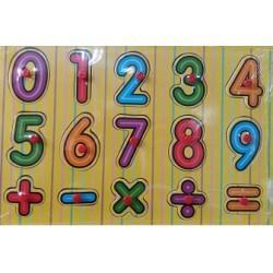 Puzzle s čísly pro nejmenší 15 ks