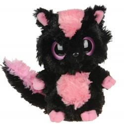Plyšový lemur růžovo-černý 25cm